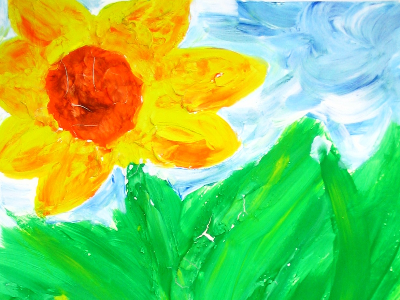 Mommy's Time Off-Van Gogh's Sunny Sunflowers (3-9 Years)